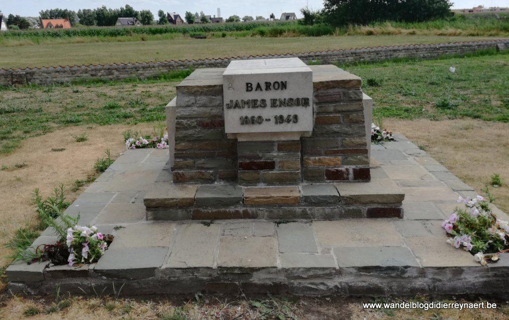 graf van James Ensor Mariakerke