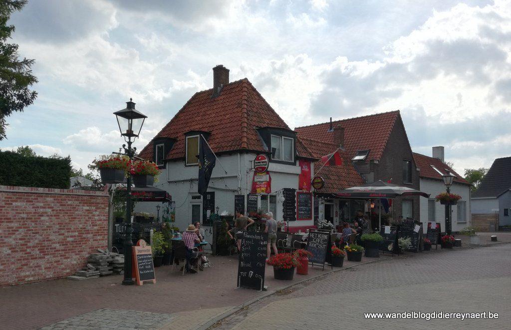 "het ""Kleine café"" in Aardenburg"