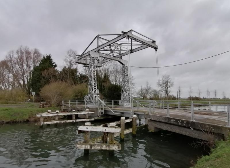 Een stukje GR in de Scheldevallei ten noorden van Doornik (1 februari 2020)