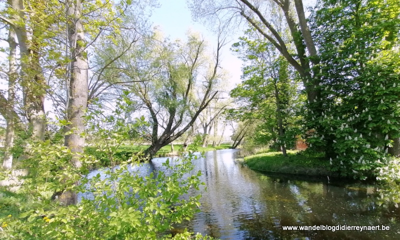 Lockdown wandeling: Menen – Rekkem – Lauwe (20 april 2020)