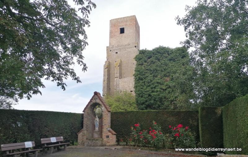 Door de polders tussen Diksmuide, Veurne en Nieuwpoort (19 augustus 2020)