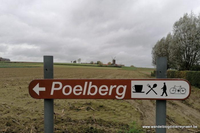 Vanuit de vallei van de Oude Mandel naar de Poelberg en terug via de GR128 (27 oktober 2020)