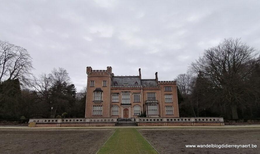 Door de Kasteelbossen ten zuidwesten van Brugge (20 januari 2021)
