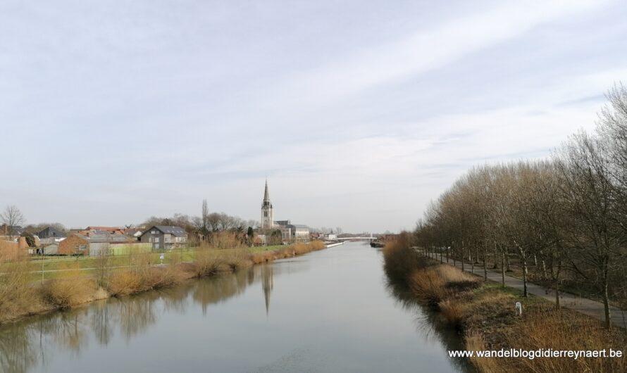Wervik: de streek van den Toebak langs de Leie (25 februari 2021)