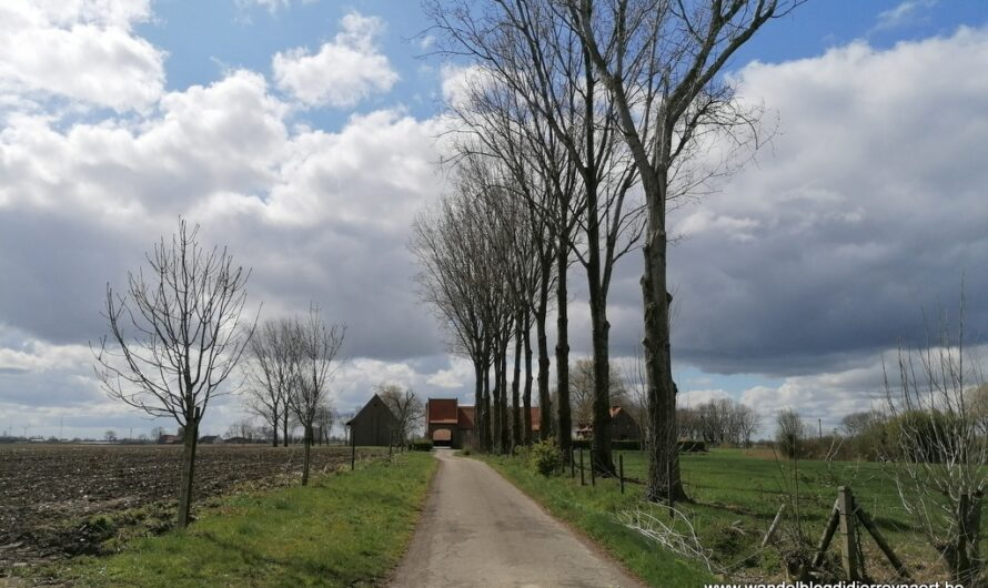 Wandeling in en door Moorsele (11 april 2021)
